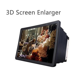 F2 - Mobile Phone 3D Screen Magnifier Enlarged Expander