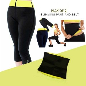 Pack of 02 Hot Shapers – Pant & Belt