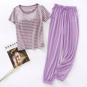 Beautiful Purple Night Suit (Trouser Shirt) For Girls & Women