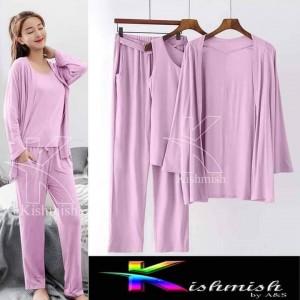 Beautiful  Fairy Night Suit (Trouser Shirt) For Girls & Women 137