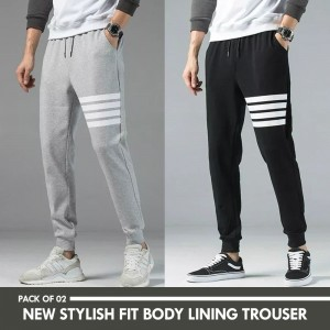 Pack Of Two Handsome Look Luxury Trousers For Him HL-01