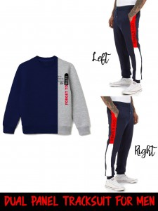 Handsome Look Luxury Track Suit Double Penal (TS-01)