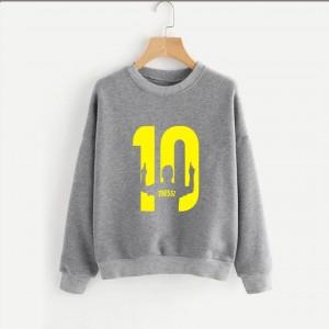 Messi 10 (Printed) Warm Sweatshirt SS-05