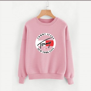 Pink Tommy Jeans (Printed) Warm Sweatshirt SS-04