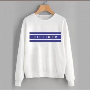 White Hilfiger  (Printed) Warm Sweatshirt SS-01