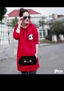 Cute Looking Long Women Hoodie DS-03