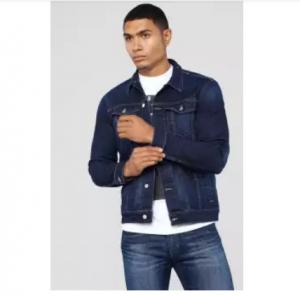 Perfect For Fit Mens Denim Jeans Jacket for Men
