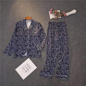 Two Hearts Nightwear Beautiful Pajama Shirt Polka-TH-01