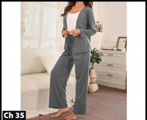 Women's Casual Nightsuit Dress LCH-35