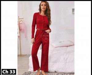 Women's Casual Nightsuit Dress LCH-33
