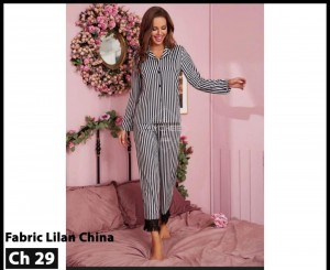 Women's Casual Nightsuit Dress LCH-29