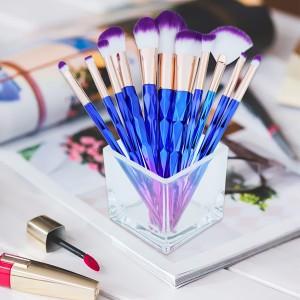 Plastic Fashion Makeup brush (10 Pcs) - BK003