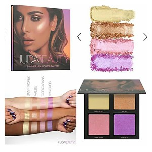 Huda Beauty Summer Highlighter Palette