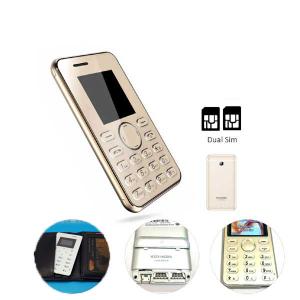 Wallet Size Mobile Dual Sim