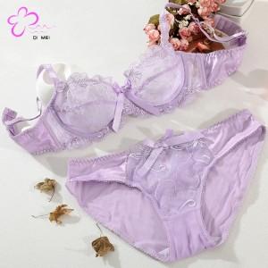 The New Beautiful Bridal Bra Panty Set BB-09