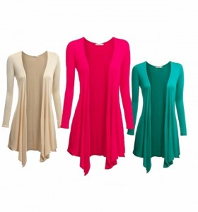 Pack of 3 Long Viscose Shurgs for Girls