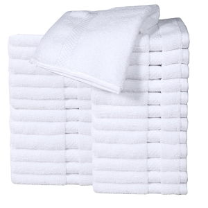 Pack Of 24 Cotton  Face  Washcloth Towel  Face