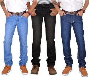 Pack of 3 Stretchable Narrow Denim Jeans