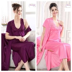 Precious Beautiful Bridal Nightwear With Gown (10139)