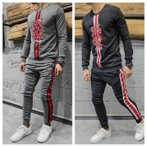 Handsome Look Luxury Track Suit Snake Print TS-02